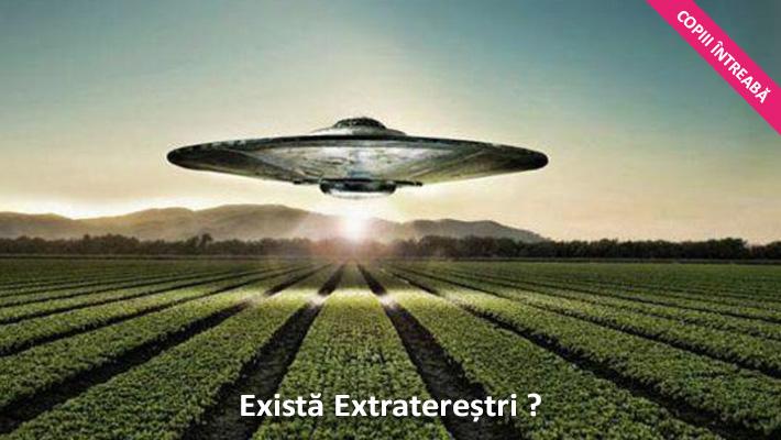 copiii intreaba extratereștri